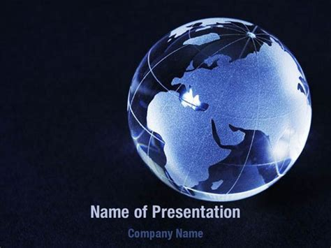globe powerpoint template blue world globe powerpoint templates blue world globe
