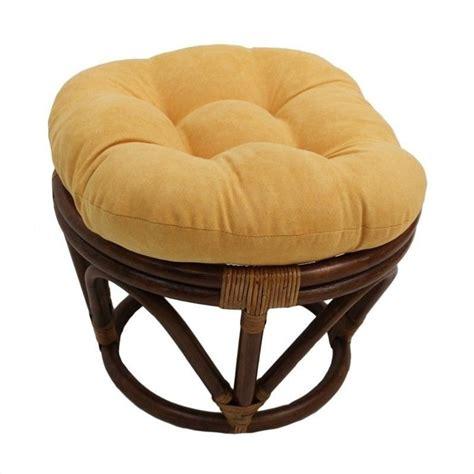 papasan ottoman international caravan papasan rattan footstool frame