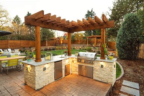 the benefits of a divine outdoor kitchen for your home the benefits of an outdoor kitchen soleic outdoor