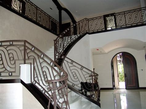 modern center island designs for kitchens railing stairs contemporary stair railings contemporary staircase