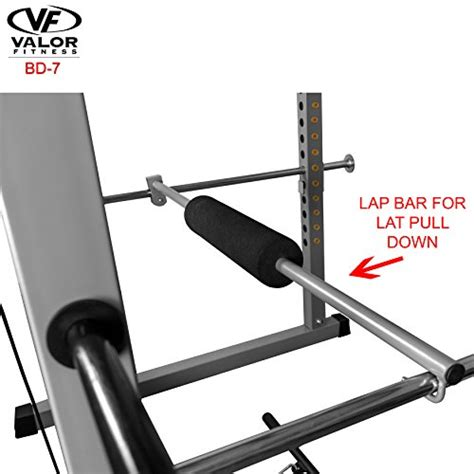 valor fitness bd 7 power rack with lat pull attachment