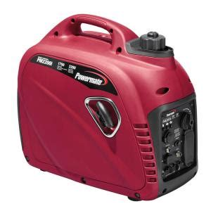 powermate 1700 watt gasoline powered inverter generator