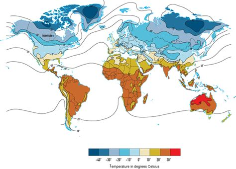 average january temperature world map russia the average monthly temperature in january