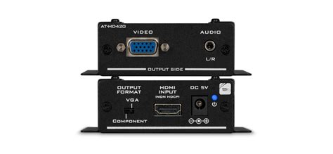 format audio converter hdmi to vga component and stereo audio format converter