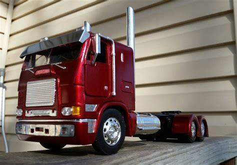 custom built rare  freightliner flb cabover toys hobbies models kits automotive