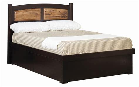 raised panel headboard amish platform lift bed with raised panel