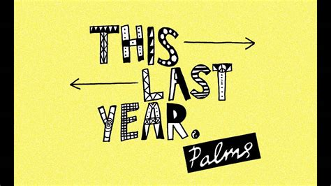 what is the date of this year s new year palms this last year