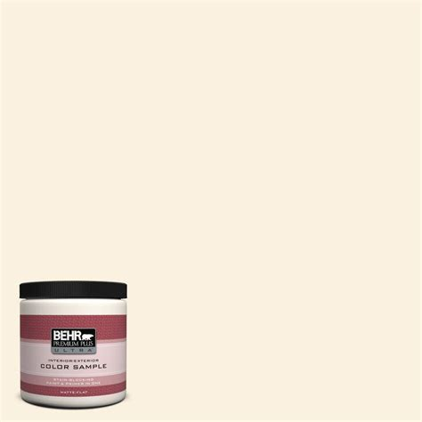 behr premium plus ultra 8 oz ppu7 18 sand pearl interior exterior paint sle ul20016 the