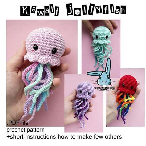 amigurumi jellyfish pattern pdf 24 best les tutos crochet de fadinou images on pinterest