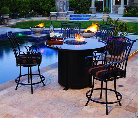 california patio outdoor pits tables