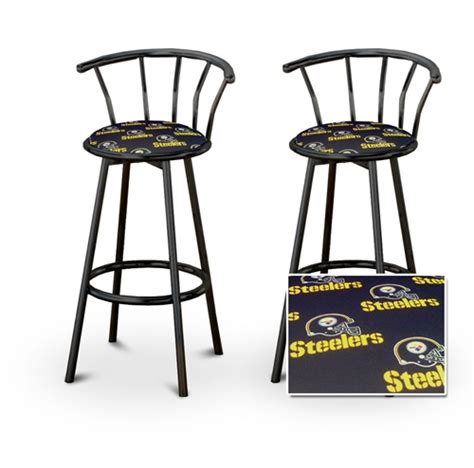 Steelers Bar Stool by The Furniture Cove 2 Pittsburgh Steelers Nfl Football