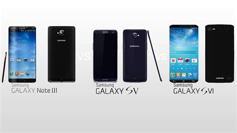 Samsung Galaxy S6 Vs S5 samsung galaxy note iii vs galaxy s5 vs galaxy s6