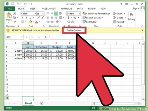 how to run macros in excel using vba lynda com tutorial how to use macros in excel 15 steps with pictures wikihow