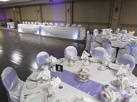 white satin chair covers   Set The Mood Decor