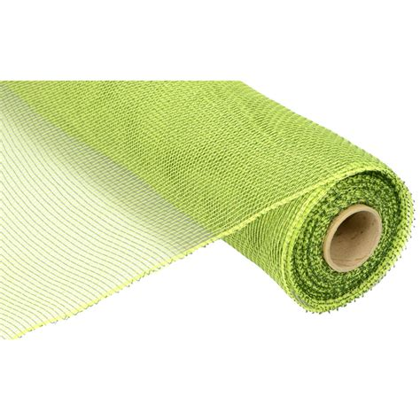 Poly Apple 21 quot poly deco mesh 2 tone apple moss re1002e4