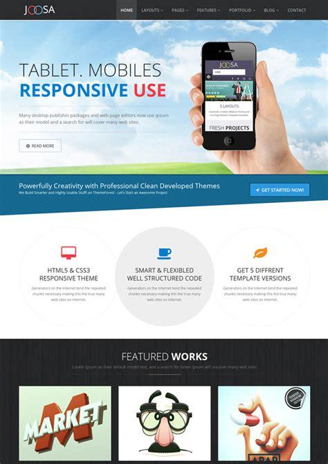 themeforest html5 themeforest tentered multipurpose html5 template rip