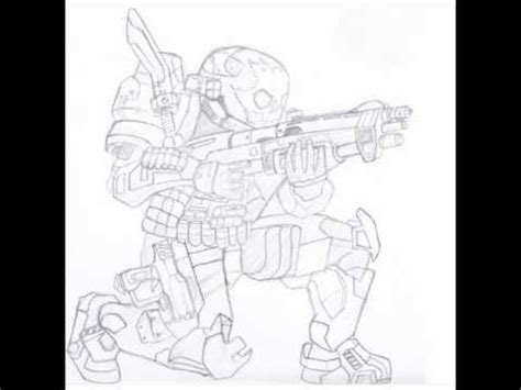 How To Draw Emile Halo