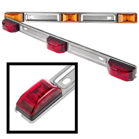 led trailer light bar truck and trailer led id light 14 3 l led