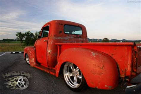 buy   gmc chevy hot rod rat pickup truck patina