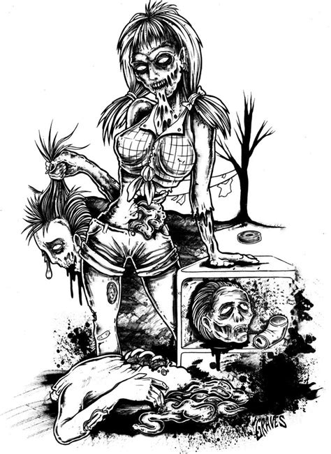 hillbilly undead trash by allangraves on deviantart