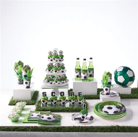Baby Shower Table Decoration Ideas Anniversaire Football Organisation Baby Shower