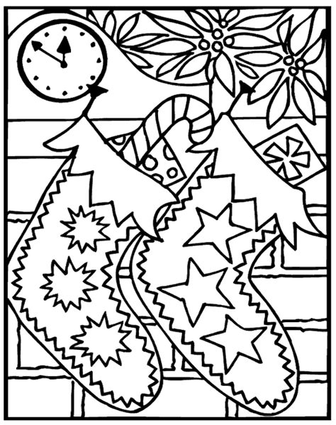 Difficult christmas coloring pages free coloring pages courtesy