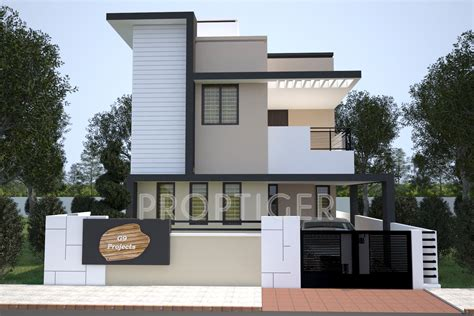building elevation in 12 x40 1500 sq ft 3 bhk 3t villa for sale in g9 spacious
