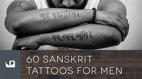 60 sanskrit tattoos tattoos for men youtube