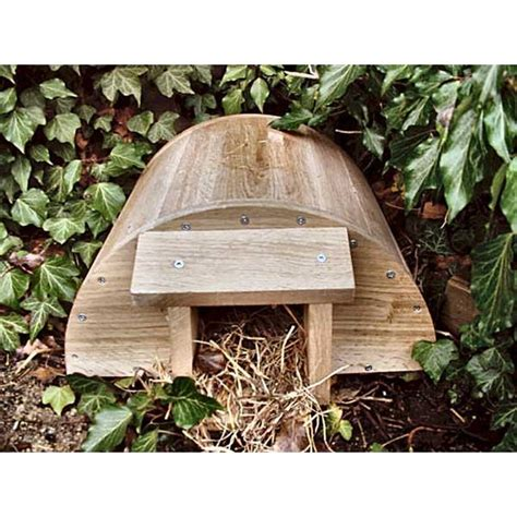 buy hedgehog house hedgehog house british wild bird food and habitat suppliers