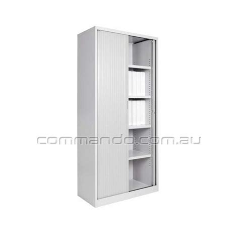 Tambour Sliding Door Cabinets Australia   Commando Storage
