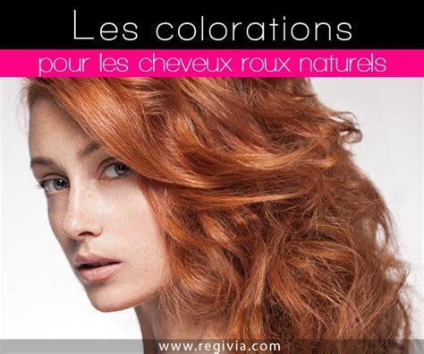culle colorate quelle coloration choisir quand on a des cheveux roux