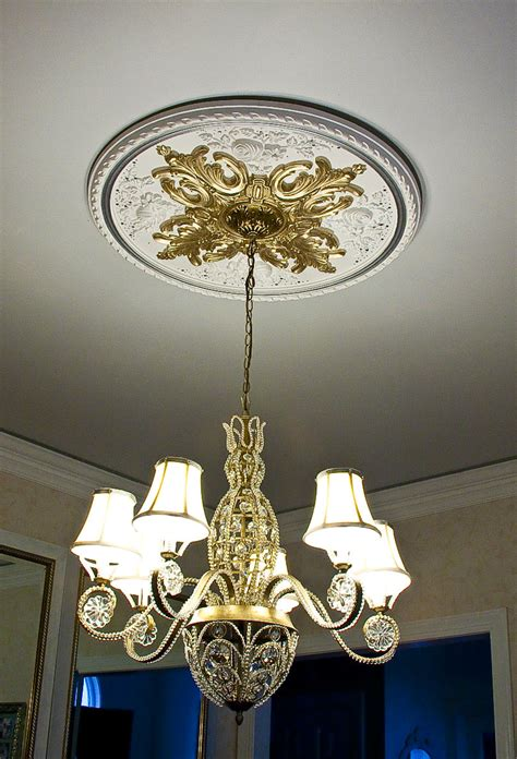 Chandelier Medallion Chandelier Medallion Faux Marble Plaster Medallion For Chandelier No Doors A New Chandelier