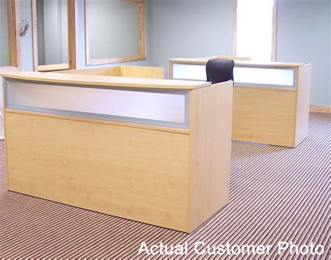 Maple Reception Desk For 1299 In Stock Free Shipping Maple Reception Desk