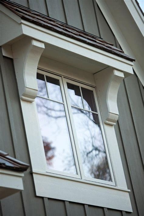 Craftsman Corbels Exterior What Would You Call This Type Of Roof Overhang A Window
