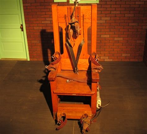 In Electric Chair by Tennessee Is Bringing Back The Electric Chair Vice United States