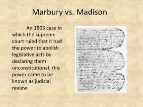 Marbury Vs Essay by Marbury Vs