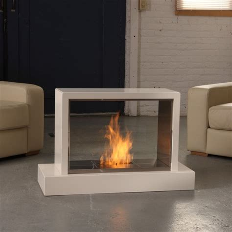 real insight ventless gel fuel fireplace modern