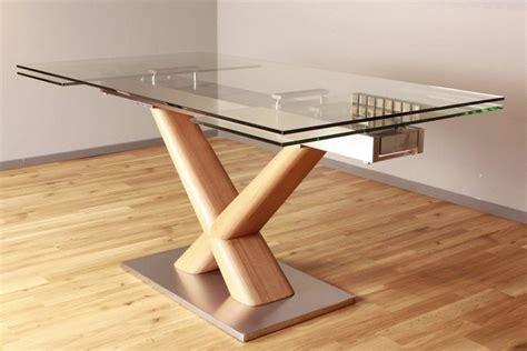 esstisch glas design kasper wohndesign esstisch aus glas 160cm ausziehbar 187 gino
