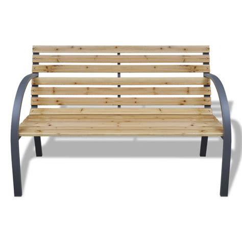 panchina da giardino legno articoli per vidaxl panchina da giardino con doghe legno e