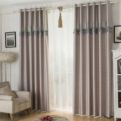 Modern Fabrics For Curtains Inspiration 2016 Jacquard Shade Window Blackout Curtain Fabric Modern Curtains For Living Room The Bedroom