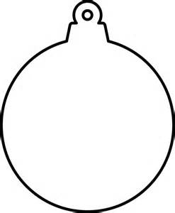 clipart christmas ornament shape