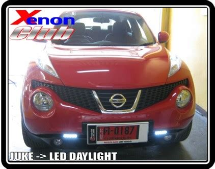 Lu Projector Nissan X Trail xenon ccfl projector daylight led 3drive แตร ผ อน0 นาน 10