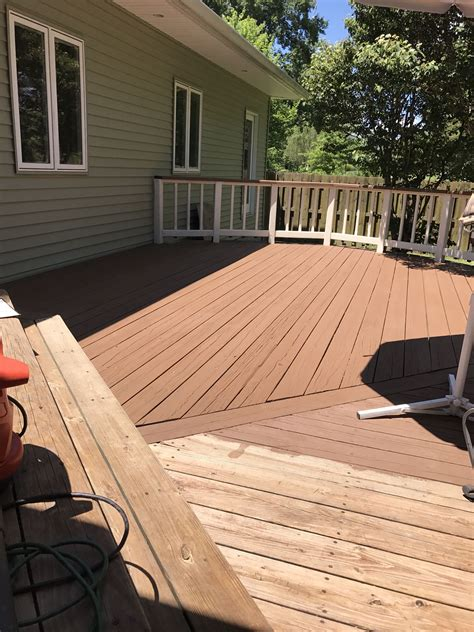 sherwin williams pine cone solid superdeck  navajo
