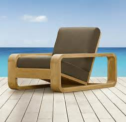 Lawn Chair Lounger Design Ideas Modern Teak Wood Outdoor Lounge Chair Design Plushemisphere