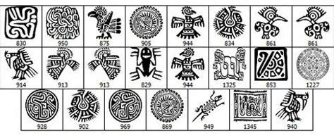 imagenes aztecas y su significado tocapus significado buscar con google sellos etnicos
