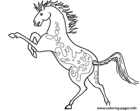 coloring pages of appaloosa horses appaloosa sc509 coloring pages printable