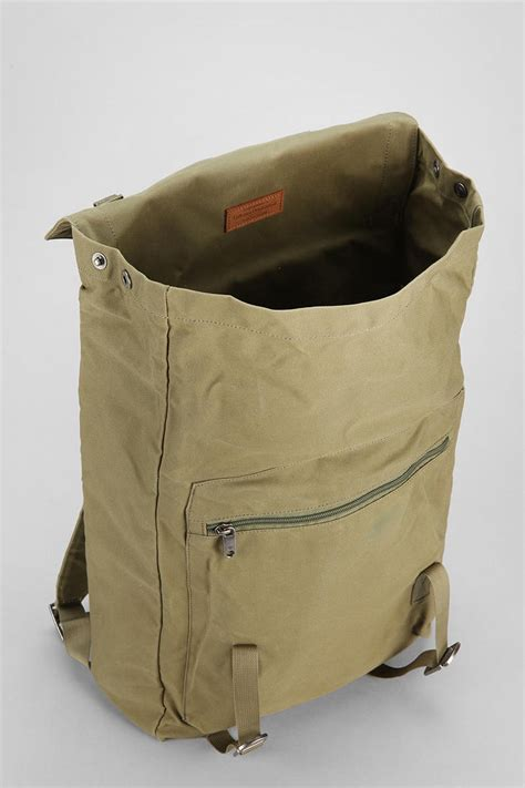 one rucksack lyst outfitters fjallraven foldsack no 1 backpack