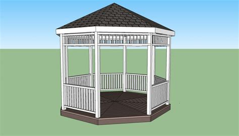 free gazebo plans gazebo plans free howtospecialist how to build step