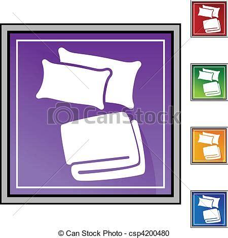 kopfkissen und decke pillow blanket vector instant csp4200480