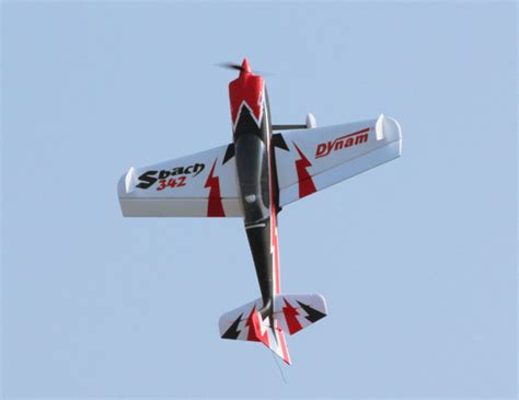 Dynam S Bach 342 1250mm Aerobatic Baru dynam sbach 342 aerobatic rc plane 1250mm arf 4ch xtreme hobby australia s home to freewing